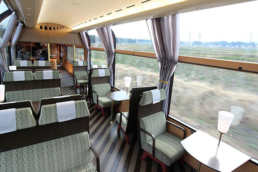Treno Panoramico in Giappone